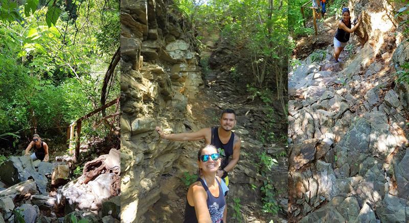 trilha caverna lapa do penhasco
