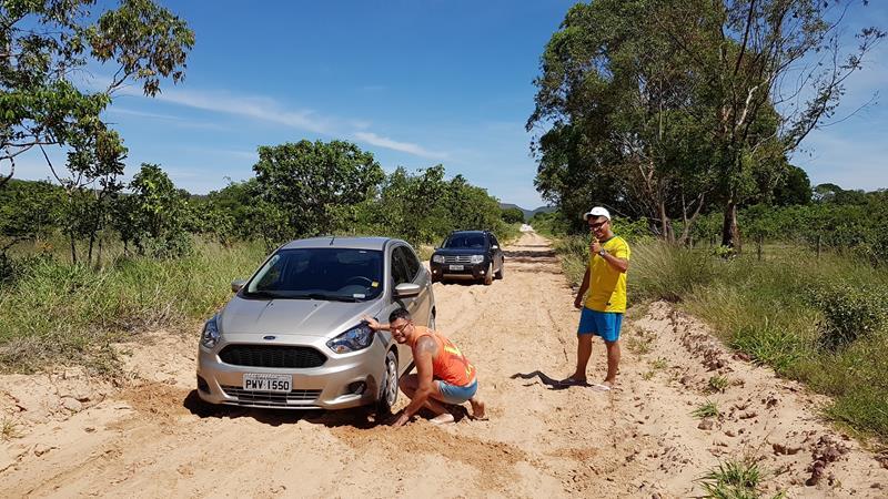carro atolado cachoeira do alemao