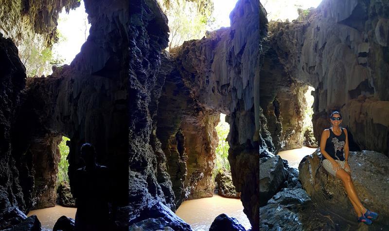 janela caverna lapa do penhasco