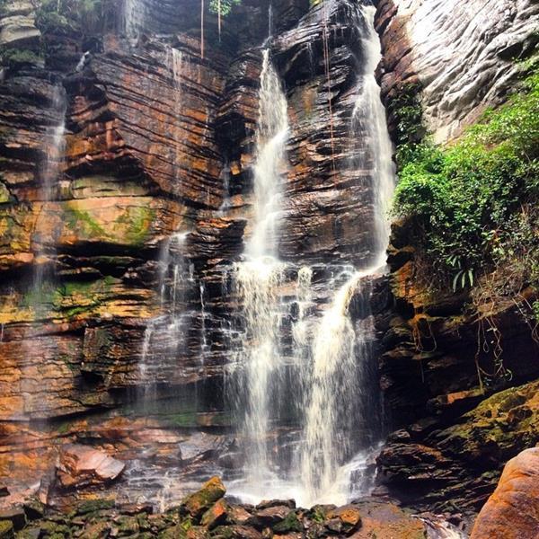 cachoeira recanto verde