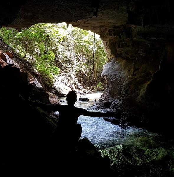 trilha itaguassu caverna