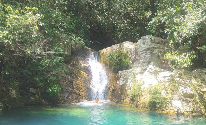 Cachoeira Santa barbarinha