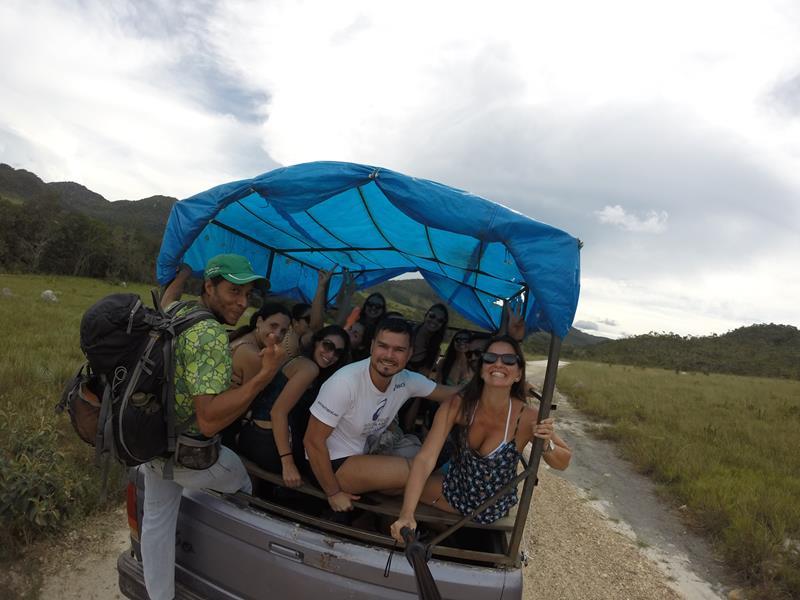 transporte até a cachoeira de santa barbara