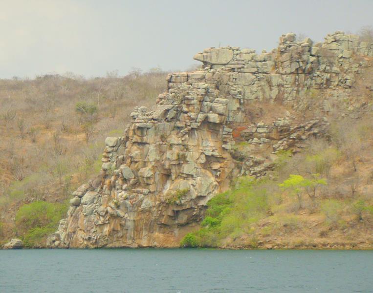 canion do xingo formação rochosa