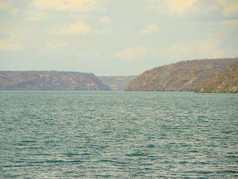 cânion do xingó no rio sao francisco sergipe