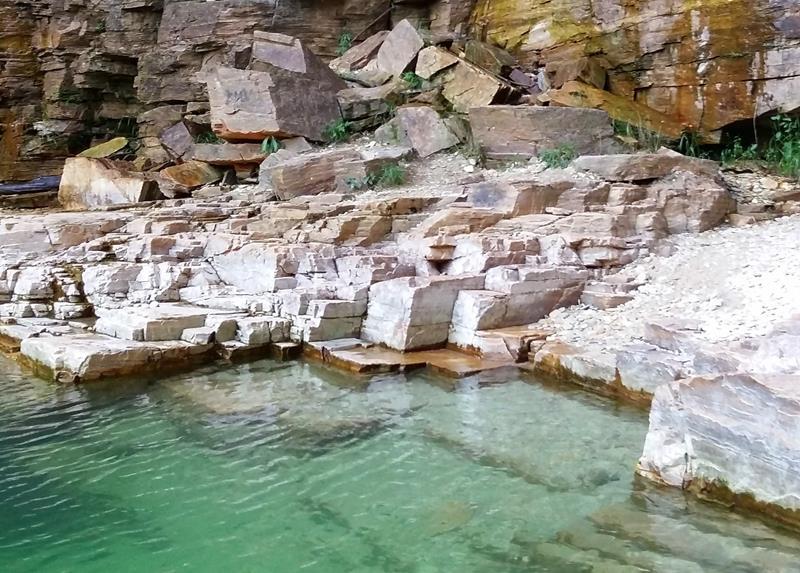 canyons capitolio lago de furnas esmeralda pedras