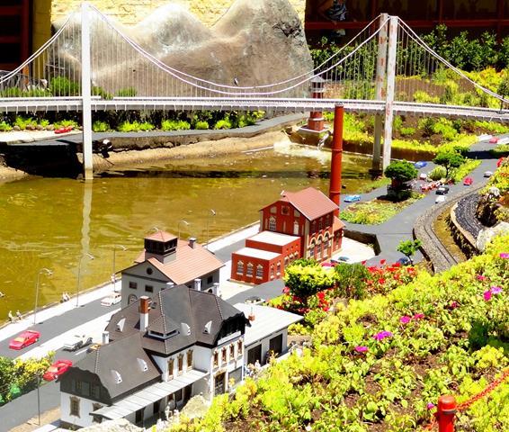 mini mundo gramado ponte