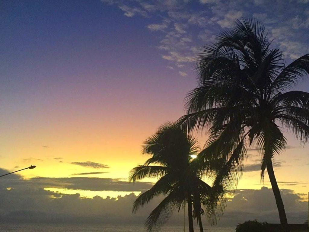 praia de ponta negra nascer do sol
