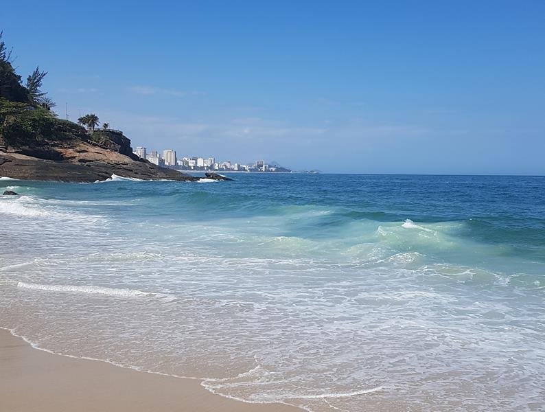 mar praia do vidigal