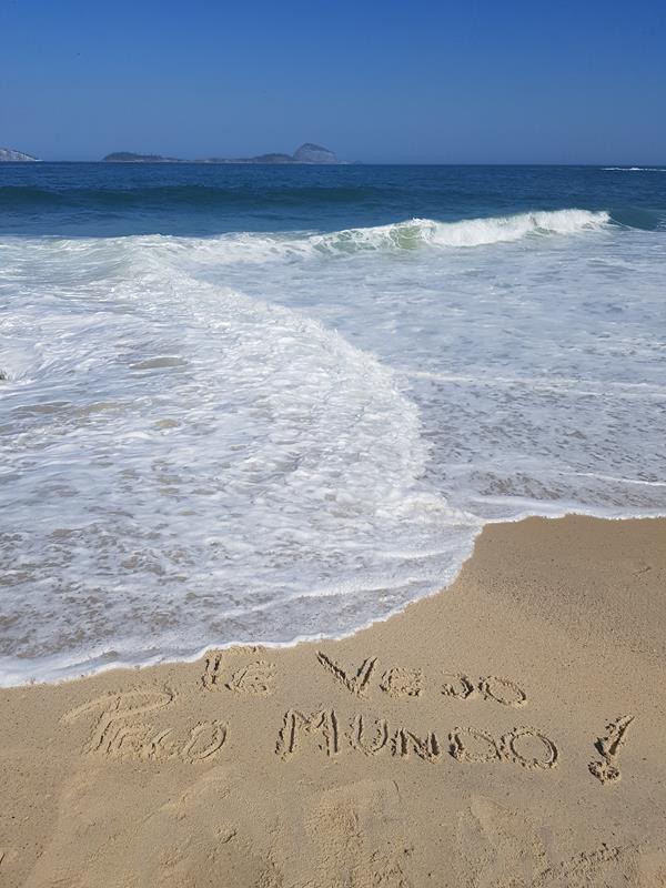 Praia do Vidigal Te Vejo Pelo Mundo
